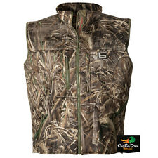 BANDED GEAR ATCHAFALAYA HUNTING VEST WIND PROOF  FLEECE LINED MAX-5 CAMO 2XL