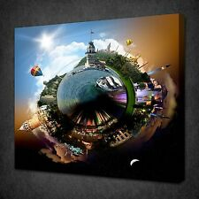 THE PLANET OF ISTANBUL MODERN DESIGN CANVAS WALL ART PICTURE PRINT READY TO HANG