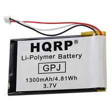 HQRP Batería para TomTom 1697461, VF8, AHL03714000, Go 720, 730, 730T, 930, 930T