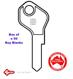 SILCA LF31R Keyblanks-Box Of 50- L&F Lowe & Fletcher ,Key Blank-SLF31R-Free Post