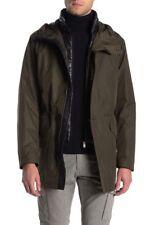 BOSS Coban Jacket Open Green Puffer With Durable Overcoat Men's 40R