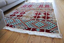135 Cm x 200 Cm Oriental Rug, Rug, Kelim , Carpet from Damaskunst S 1-4-23