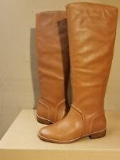 UGG AUSTRALIA Gracen Whipstitch leather chestnut women's tall  boots size 7US
