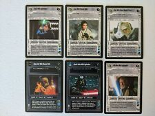 Star Wars CCG Enhanced Premiere EPP Complete Set 6/6 Darth Vader Luke Boba Leia
