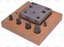 5 disco de acero en forma de cruz cristiana Cortador de 7 Mm 23 mm Patrón de Diseños De Joyería
