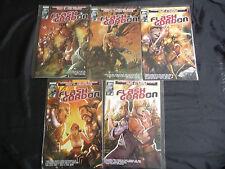 Flash Gordon #2 - #6 1st Prints (Ardden Comics)