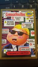 Garbage Pail Kids 2015 Series 2 30th 5b Crashed Carter GOLD 80's Spoof NrMt-Mint