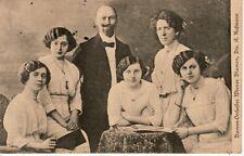 DAMEN ORCHESTER WIENER BLUMEN -- Dir. A. Hoffman, 1915 postcard