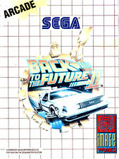 A4 Sega Master System Game Poster – Back to the Future Part 2 (Picture Print)