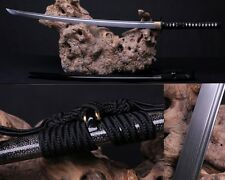 High Quality Japan Samurai Sword Katana Pattern Steel Sharp Genuine Ray Skin
