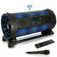 Bluetooth Boom Box Speaker System - Wireless & Portable Stereo Speaker with Bui