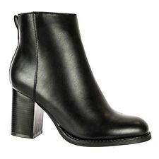 Zip Mid Heel (1.5-3 in.) Standard (D) Block Shoes for Women