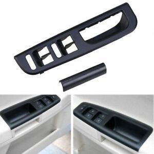 Left Driver Side Door Window Switch Bezel Handle Trim Set for VW Passat B5 96-05