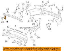 Acura HONDA OEM 04-13 MDX Rear Bumper-Mount Bracket 71591S3VA01