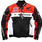 Racing jacket car racing clothing motorcycle clothing for Honda fabric