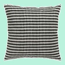 "IKEA""Stockholm""Black&(Off)White Geometric Pillow COVER 22""Cotton Velvet Washable"