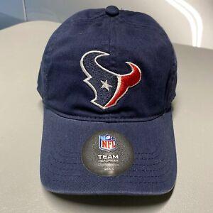 NFL Girl Houston Texans Baseball Hat Team Headware Adjustable Blue