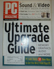 Pc Magazine Ultimate Upgrade Guide January 2002 032015R