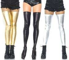 Wetlook Thigh Highs, Wetlook Stockings, PVC, Fetish, Bondage, Mistress, Space
