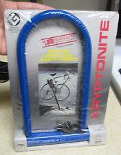 1986 Kryptonite  Bicycle U Lock New Old Stock K4 Sealed vtg retro bike BMX