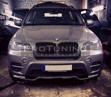 BMW X5 e70 10-13 LCI Aero Performance Package Front Bumper Spoiler aerodynamic