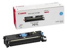 Cartouches de toner cyan compatibles Canon pour imprimante