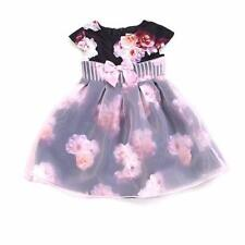 aad338524c LITTLE ANGELS by US ANGELS® Girls' 4T Black & Pink Floral Print Dress NWT