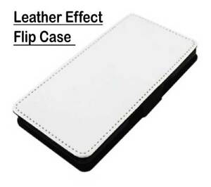 Sublimation Leather Effect Flip Cases-Apple Iphones, Samsung Galaxy & Universal
