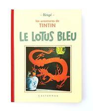 TINTIN LE LOTUS BLEU FAC SIMILE EO 1993 N&B DE L'EO 1939 CASTERMAN