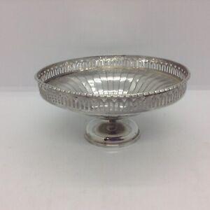Sterling Silver Mappin & Webb Birmingham 1937 Bon Bon Dish
