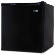 New Mini Refrigerator Fridge 1.6 Cu. Ft. College Dorm Room Office Kitchen, Black