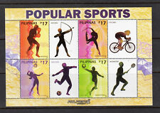 Philippine Stamps 2018 Popular Sports Generic Sheetlet