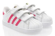 25 Scarpe rosa con chiusura a strappo per bambini dai 2 ai 16 anni