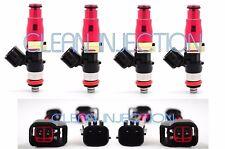 fit Nissan 180sx 240sx s13 s14 s15 SR20DET KA24DE Bosch 650cc e85 Fuel Injectors