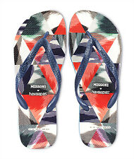 BRAND NEW! Men's MISSONI for HAVAIANAS FLIP FLOPS (2012 edition) - Size: 7-8