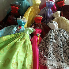 Fashion Doll Clothes 12P =(4dress +4 shoes +4 hangers) for 11.5 doll clothes