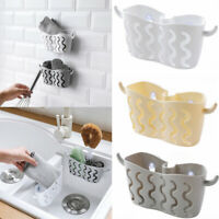 Kitchen Hanging Storage Drain Basket Sink Organizer Rack Sponge Caddy Holder ~