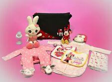 Disney Minnie Mouse & Friends Diaper Bag & Baby Accessories Bundle