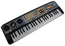 Mq-4915 49 Key Black Mini Electronic Keyboard - Music Workstation