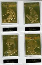 2000 New York Mets Set of 22kt Gold Cards Danbury Mint
