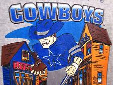DALLAS COWBOYS vtg sweatshirt youth med crewneck size 5-6 western cartoon Duke