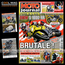 MOTO JOURNAL N°1883 BMW S 1000 RR, HONDA CBR RR, TRIUMPH 1050 SPEED TRIPLE 2009