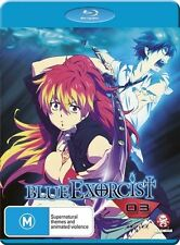Blue Exorcist : Vol 3 (Blu-ray, 2013) - Brand New and FREE POSTAGE