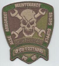 "D CO 1/227th ARB ""BONECRUSHERS"" desert patch"