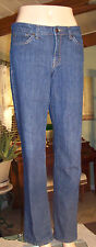 Nine West Jeans SIZE 8 Womens straight leg Blue W/28 L/30
