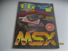 EG machine number 4 of 4/1985 Commodore pc-128 - Atari 130xe-Special msx