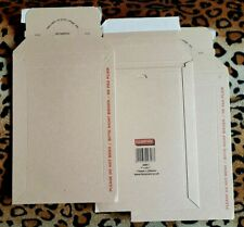 "3x Flexocare CARDBOARD ENVELOPES printed DO NOT BEND 7"" x 9.5"" / 175mm x 250mm"