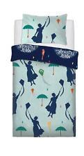 Mary Poppins Single Duvet Cover & Pillowcase Set Reversible Magic Design