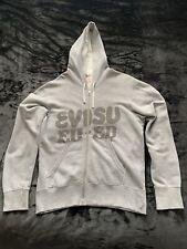 Genuine Authentic Men's Evisu Grey Hoodie Size Large