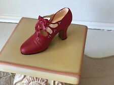 Just The Right Shoe Charisma Biltmore Estate Red/pearls bow 25419 Raine